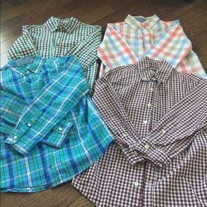 J Khaki (Belk Brand) button down shirts